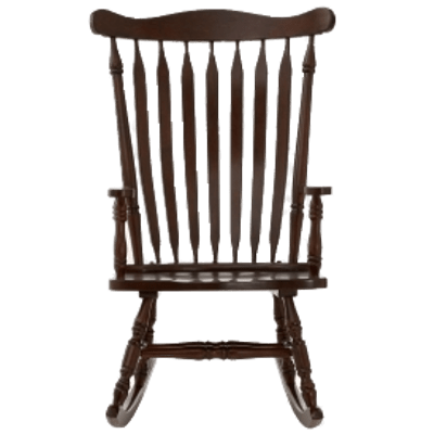 Chair front view clipart png free Rocking Chair Front View transparent PNG - StickPNG png free