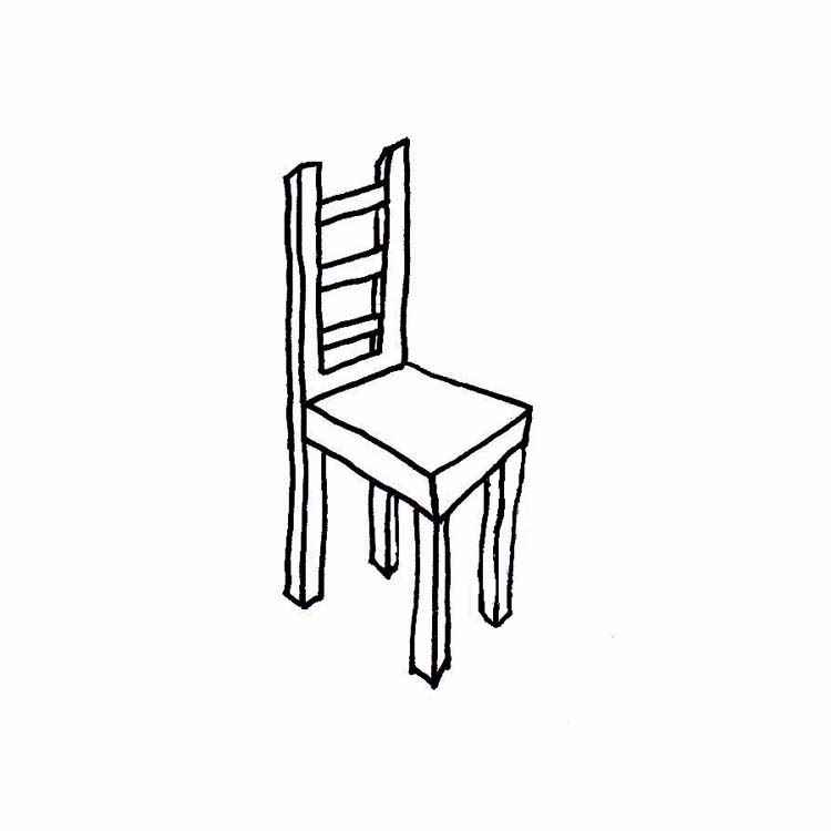 Chair white clipart png black and white library Chair Clipart Black And White Clipart Panda Free Clipart png black and white library