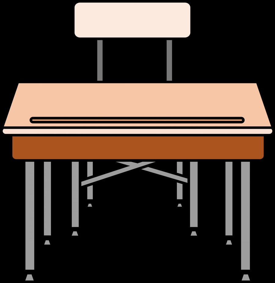 Chairs on top of table clipart free clipart free Download tablet arm classroom desk top chair top view clipart Table ... clipart free