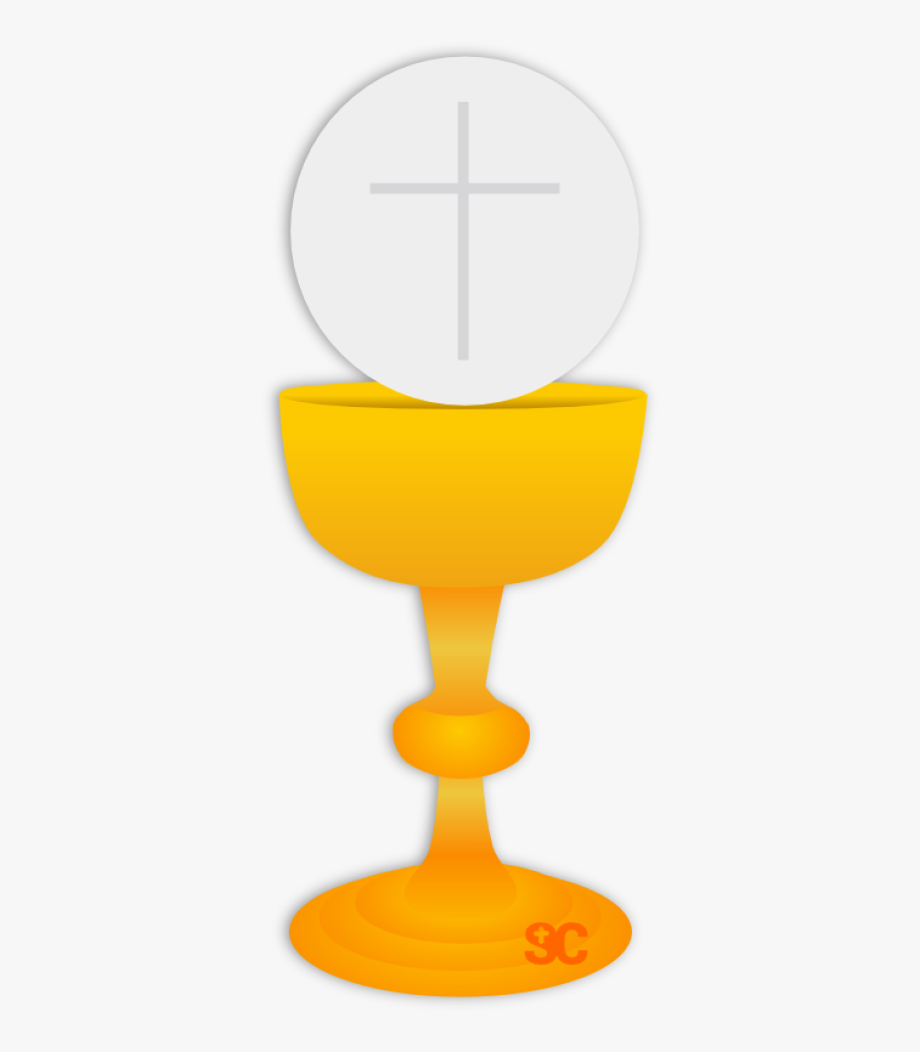 Eucharistic Host Clipart - First Communion Chalice Clipart #555217 ... library
