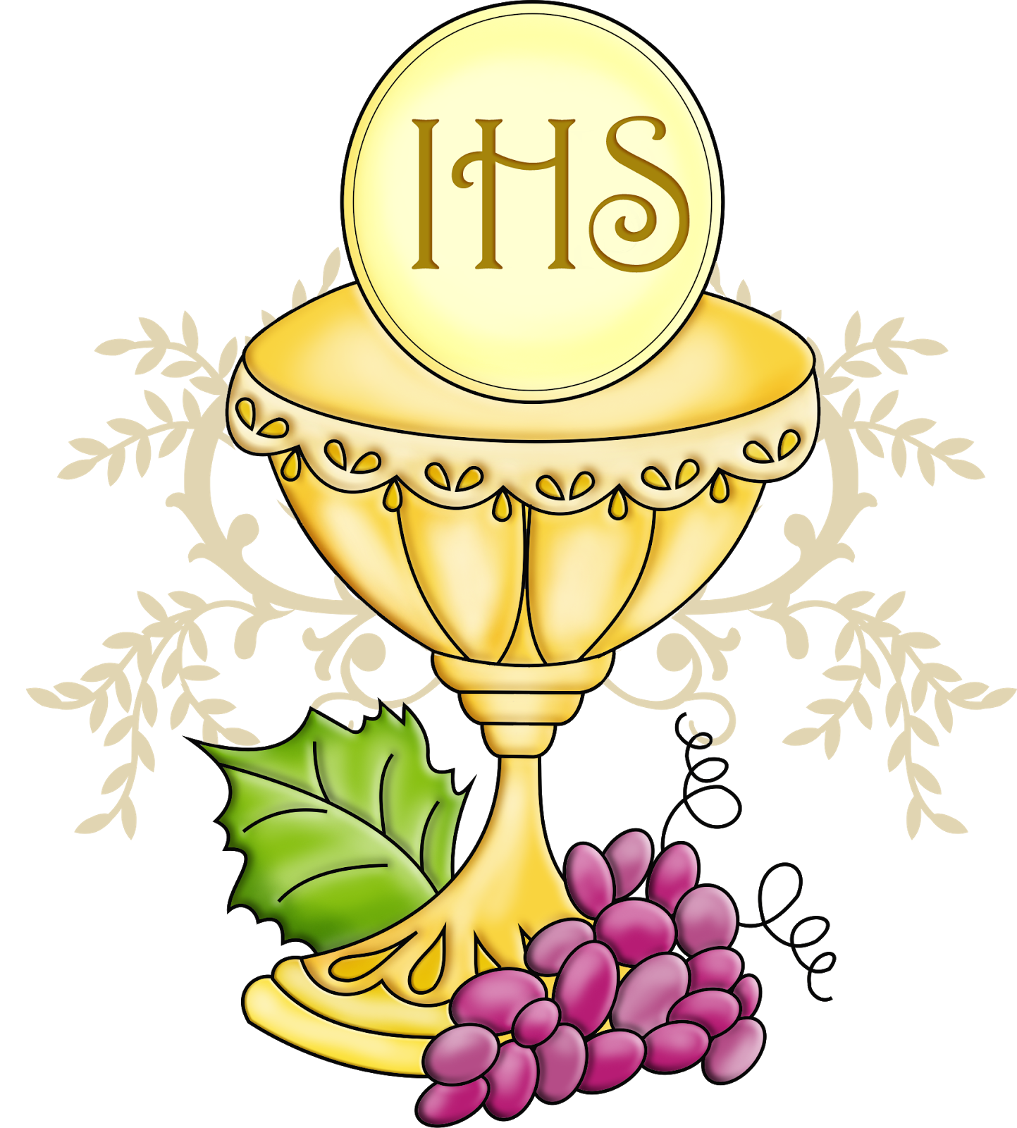 Best Chalice And Host Clip Art Drawing ~ Vector Images Design free stock