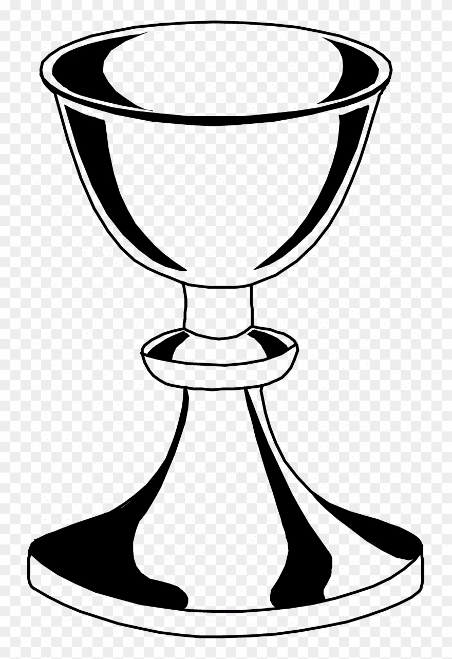 Daring Chalice And Host Coloring Page Paten Clipart - Chalice ... clip art transparent library