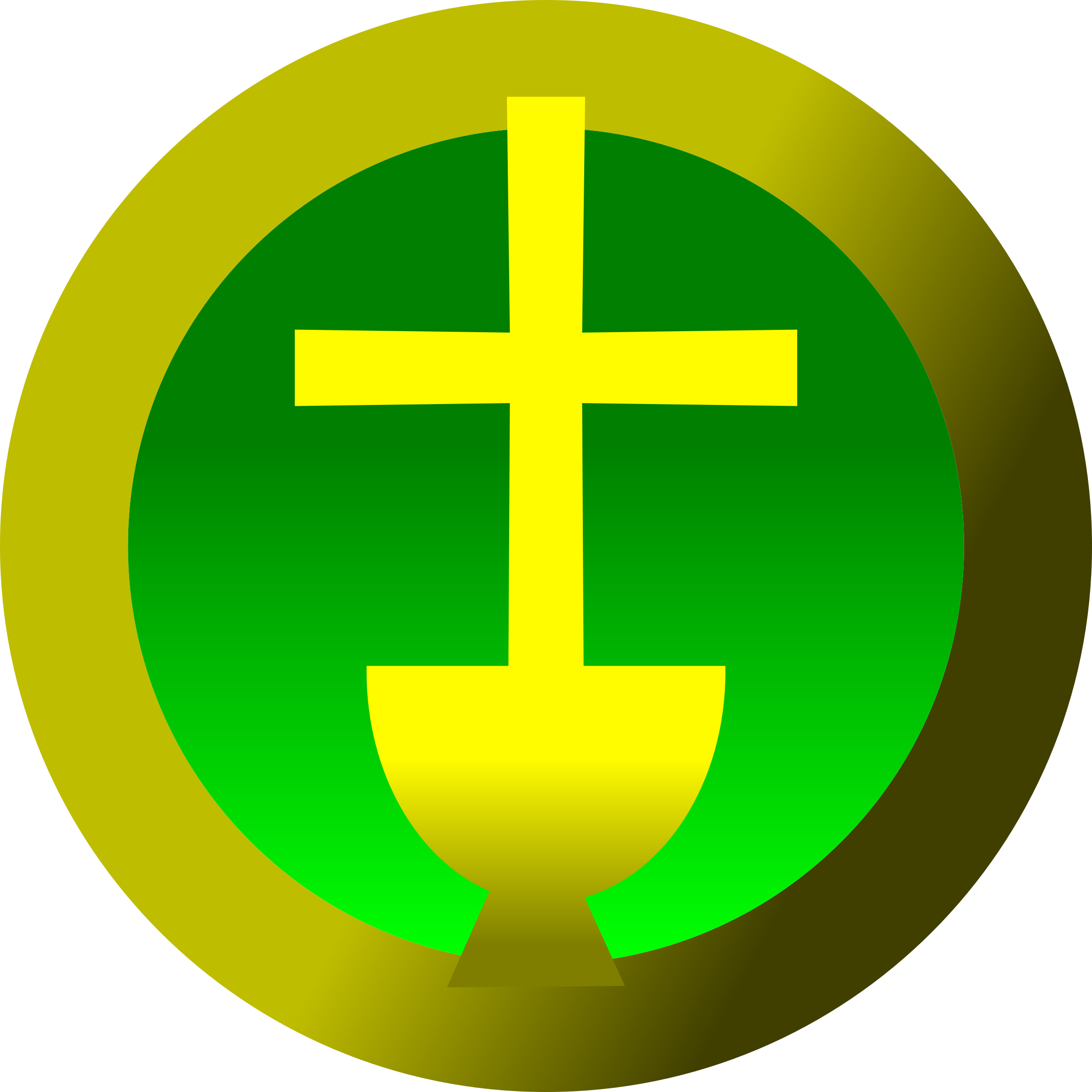 Cross clipart green clipart free download Clipart - Cross and Chalice clipart free download
