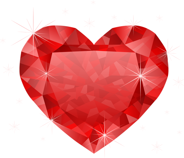 Distressed heart clipart black and white vector freeuse stock Large Transparent Diamond Red Heart PNG Clipart | Serca | Pinterest ... vector freeuse stock
