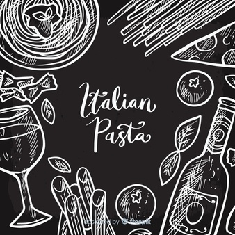 Chalk pasta clipart png stock Pasta Vectors, Photos and PSD files | Free Download png stock