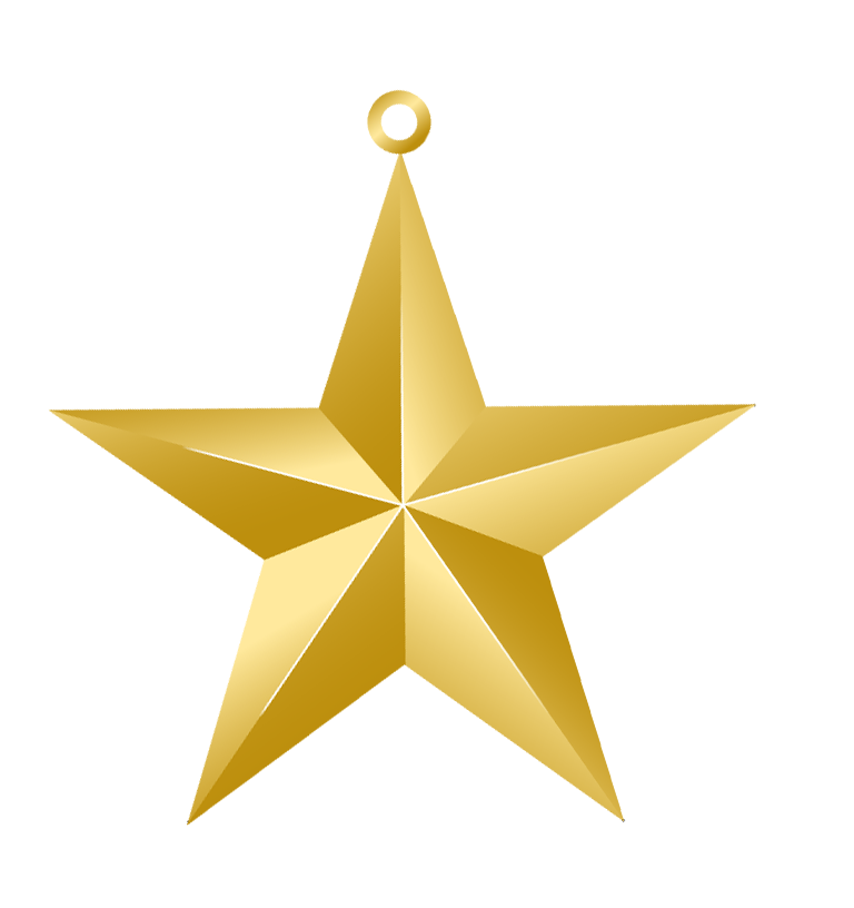 Ornament outline clipart star graphic library stock Christmas Gold Star Ornament PNG Picture | Christmas Clip Art 2 ... graphic library stock