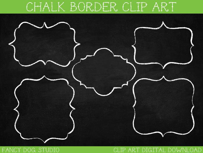 Chalkboard art clipart clip free library Chalkboard Frame Clipart - Clipart Kid clip free library