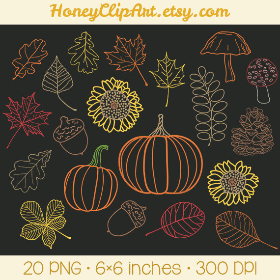 Chalkboard art clipart autumn png library library Chalkboard art clipart autumn - ClipartFest png library library