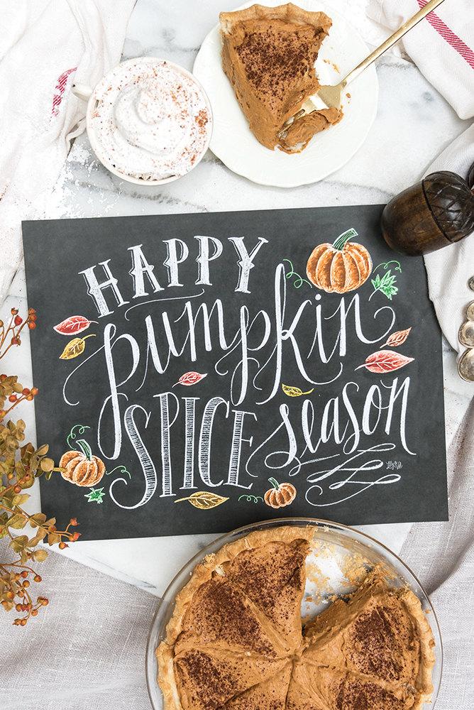 Chalkboard art clipart autumn stock Clipart fall chalk free pumpkin - ClipartFest stock