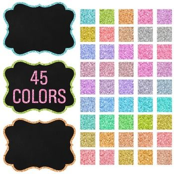 Chalkboard art clipart facebook picture black and white stock Clip Art: Frames - 45 Fancy Chalkboard Glitter Frames | Pinterest ... picture black and white stock