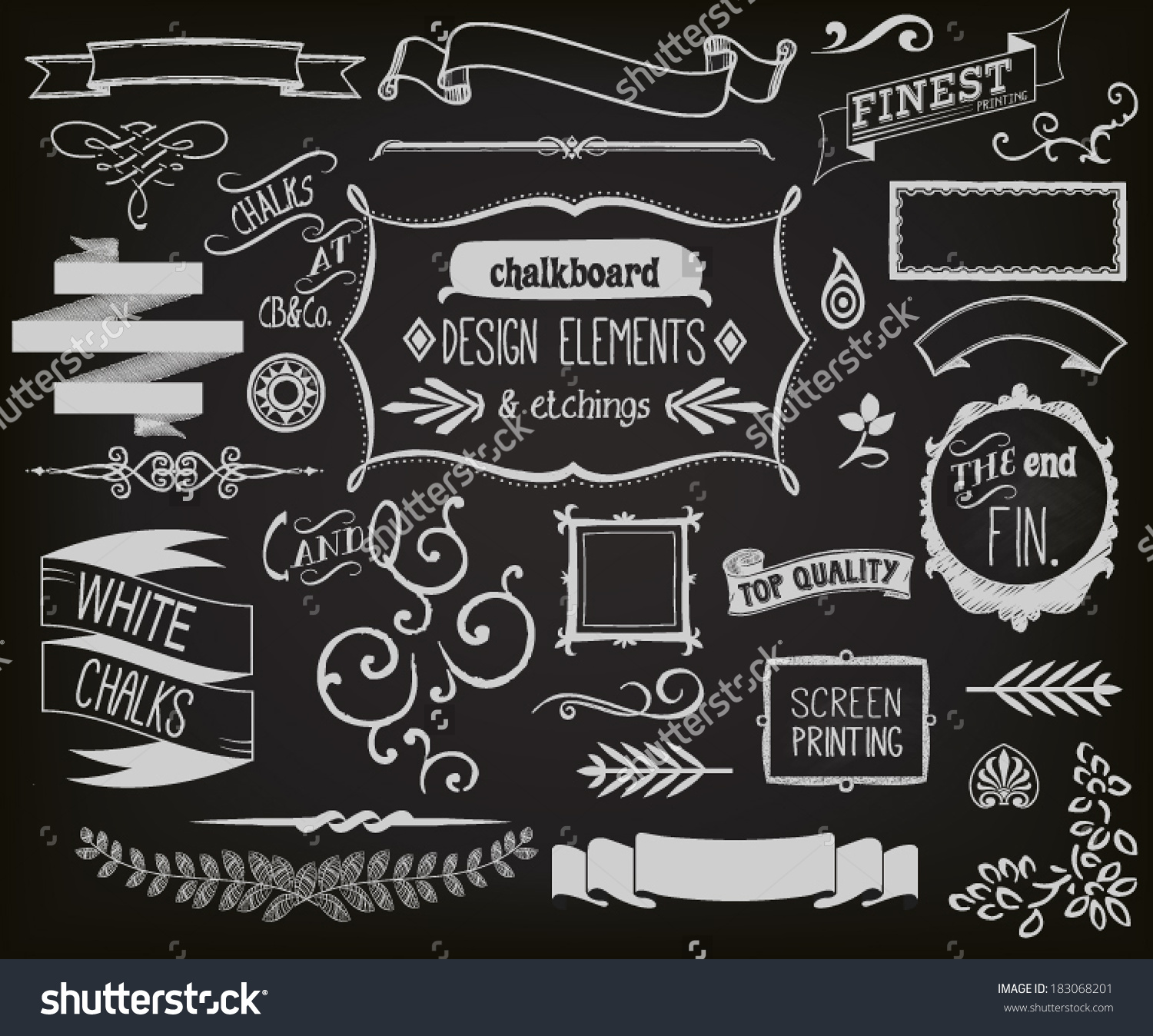 Chalkboard art clipart italian jpg black and white download Chalkboard art clipart - ClipartFest jpg black and white download