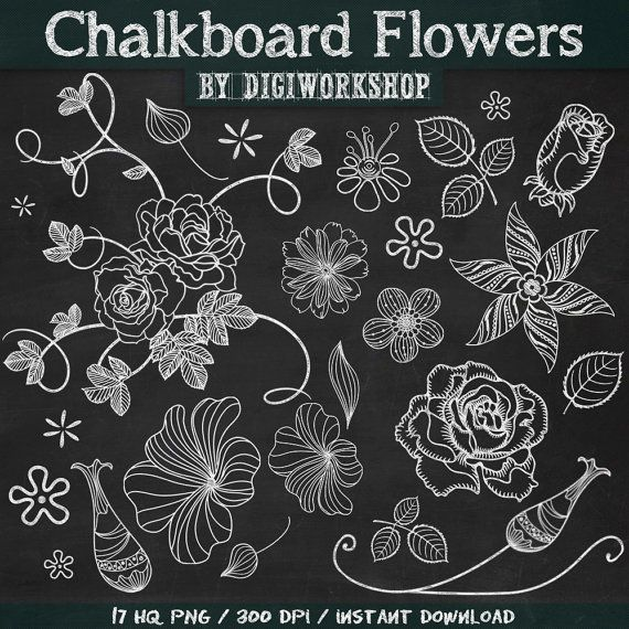 Chalkboard art clipart italian clip art black and white library 17 Best ideas about Chalkboard Clipart on Pinterest | Chalkboard ... clip art black and white library