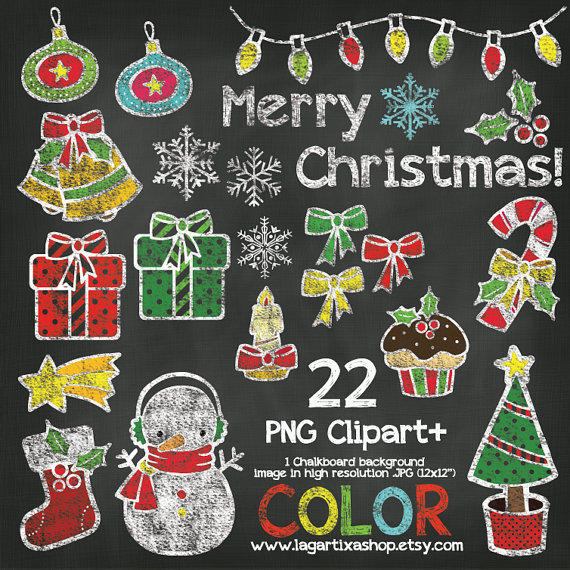 Chalkboard art clipart tree picture stock Christmas Chalkboard Color Chalk Clipart Snowman Boot Star ... picture stock
