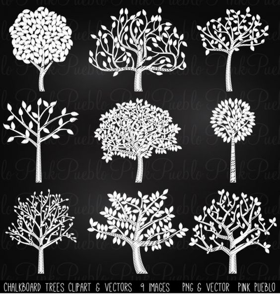 Chalkboard art clipart tree banner library stock Chalkboard art clipart tree - ClipartFest banner library stock