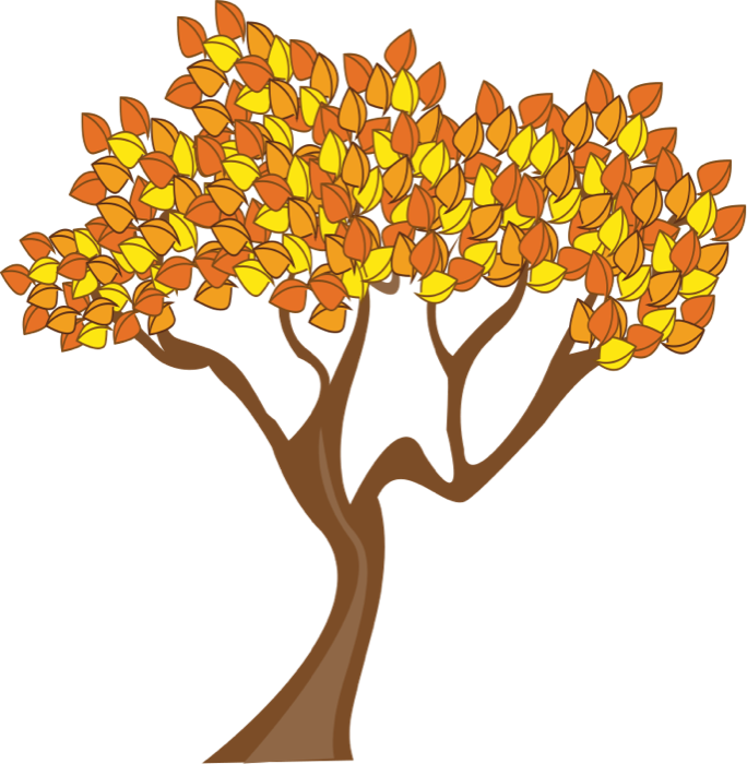 Tree leaves clipart picture library stock Free autumn tree clipart - ClipartFest picture library stock
