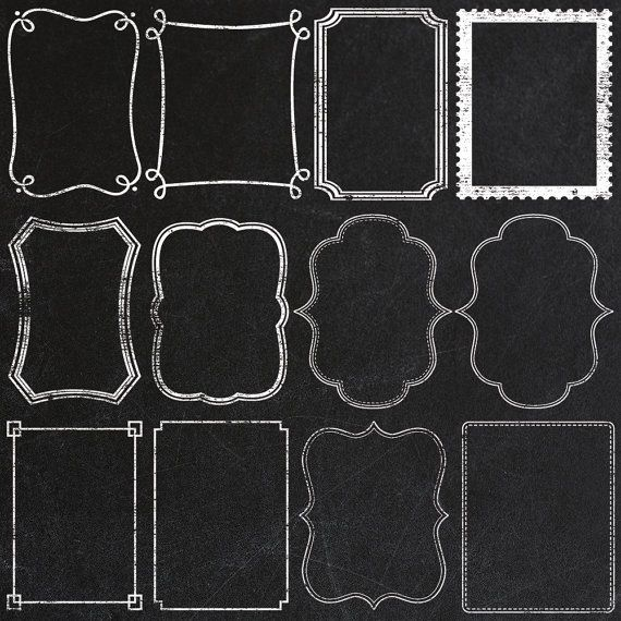 Chalkboard borders clip art clip black and white download 17 Best ideas about Chalkboard Border on Pinterest   Chalkboard ... clip black and white download