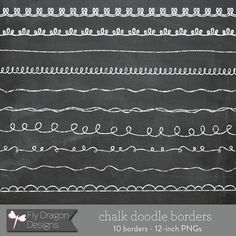 Chalkboard borders clip art clip transparent download 15 Chalkboard borders and 1 12x12