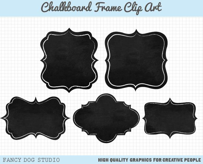 Chalkboard borders clip art transparent library Chalkboard clipart frame - ClipartFest transparent library