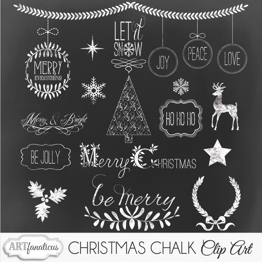 Chalkboard christmas clipart banner freeuse download Chalkboard christmas clipart - ClipartFest banner freeuse download