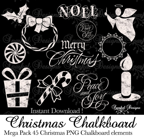 Chalkboard christmas clipart picture freeuse library Chalkboard christmas clipart - ClipartFest picture freeuse library