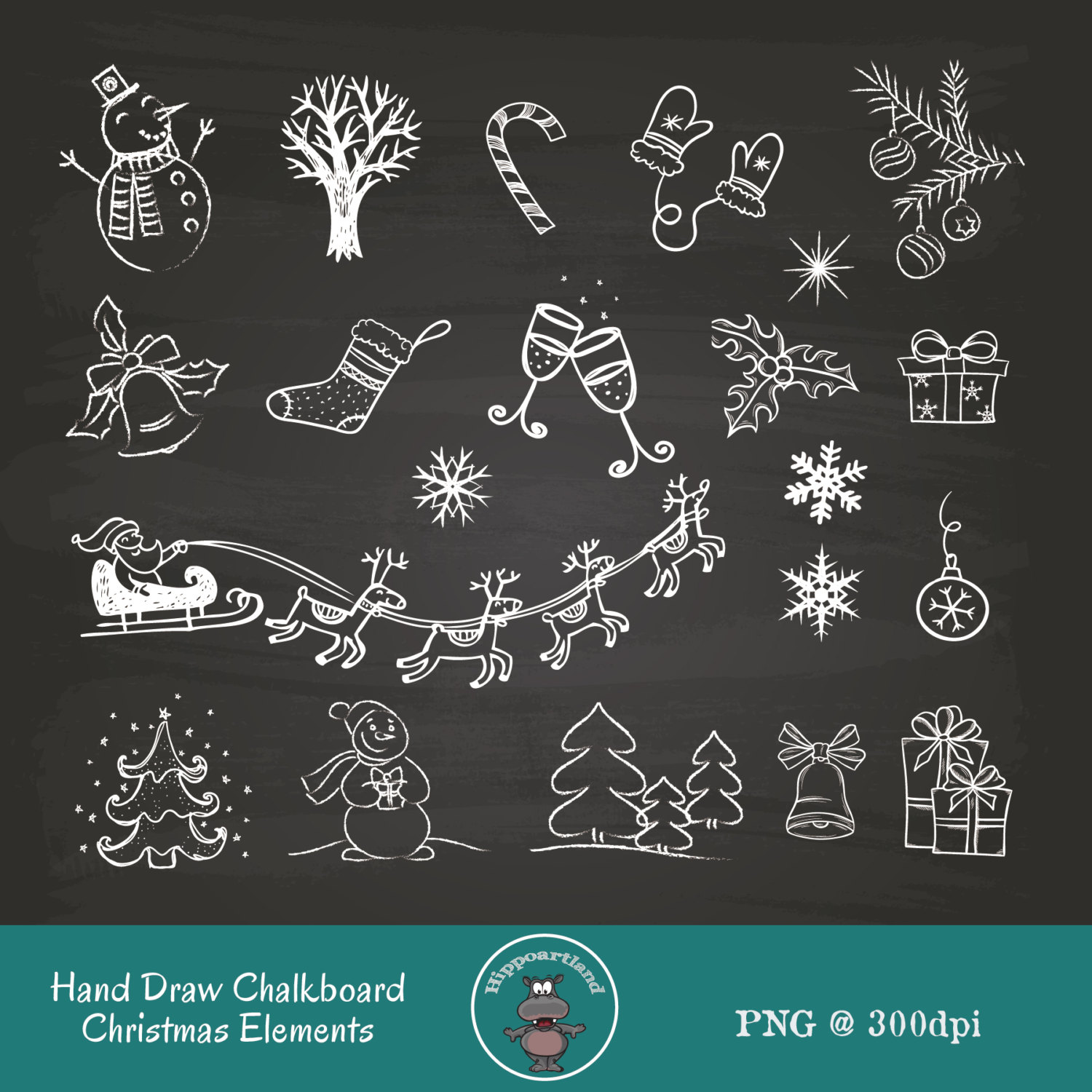 Chalkboard christmas clipart clip art free stock Chalkboard christmas clipart - ClipartFest clip art free stock
