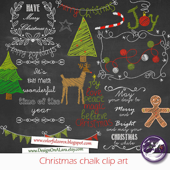 Chalkboard christmas clipart image freeuse stock Christmas Chalk clipart Chalkboard Christmas Clipart Chalk image freeuse stock