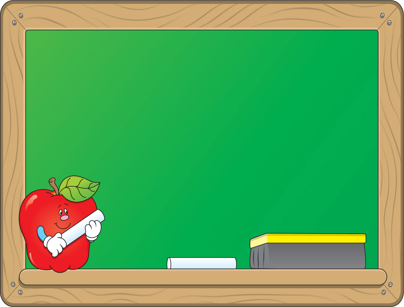 Chalkboard clip art png free Chalkboard Borders Clipart - Clipart Kid png free