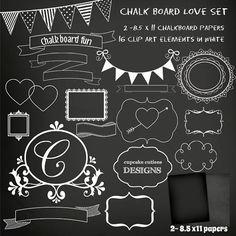 Chalkboard clip art download clipart transparent download Flourish Swirls Clip Art Chalkboard, wedding invitation, Floral ... clipart transparent download