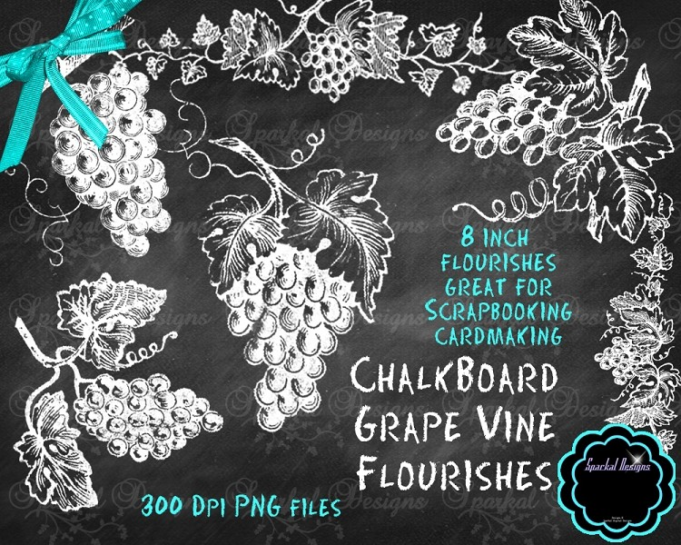 Chalkboard clip art download graphic library stock 17 Best images about Chalkboard Flourishes and Clip Art on ... graphic library stock