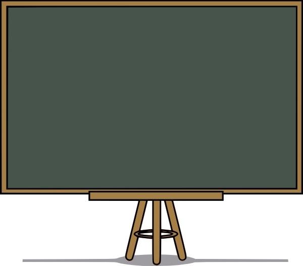 Chalkboard clip art download svg royalty free library Chalk Board clip art Free vector in Open office drawing svg ( .svg ... svg royalty free library