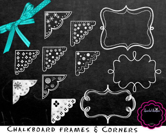 Chalkboard clip art free png black and white Chalkboard Clipart Free & Chalkboard Clip Art Images - ClipartALL.com png black and white