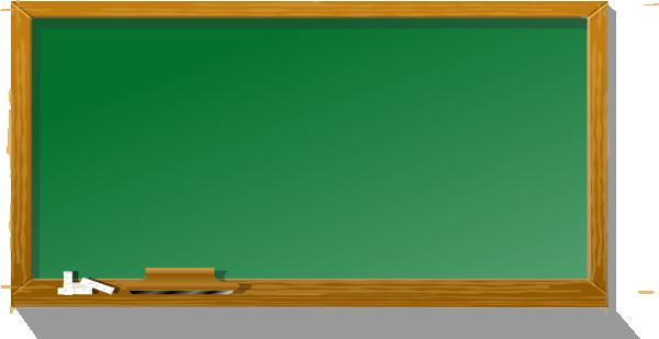 Chalkboard clip art free jpg library download Chalkboard Clipart - Clipart Kid jpg library download