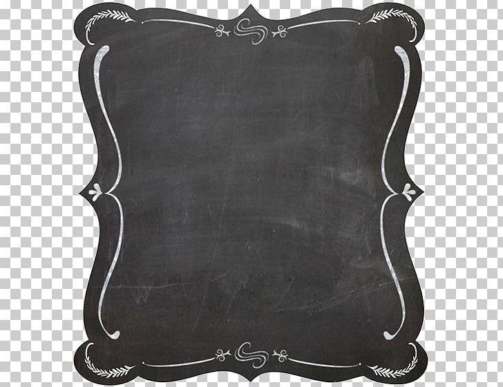 Chalkboard clipart border clip freeuse download Blackboard Frame Chalk PNG, Clipart, Black And White, Border, Border ... clip freeuse download