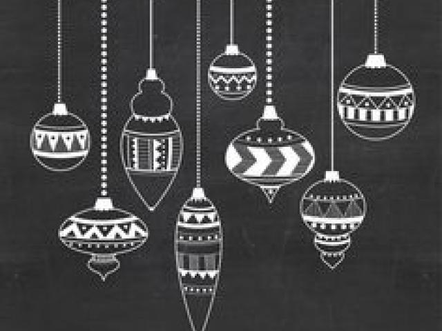 Chalkboard clipart ornaments jpg royalty free library Free Christmas Ornament Clipart, Download Free Clip Art on Owips.com jpg royalty free library