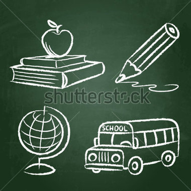 Chalkboard drawing clipart school svg royalty free stock Chalkboard apple drawing clipart - ClipartFest svg royalty free stock
