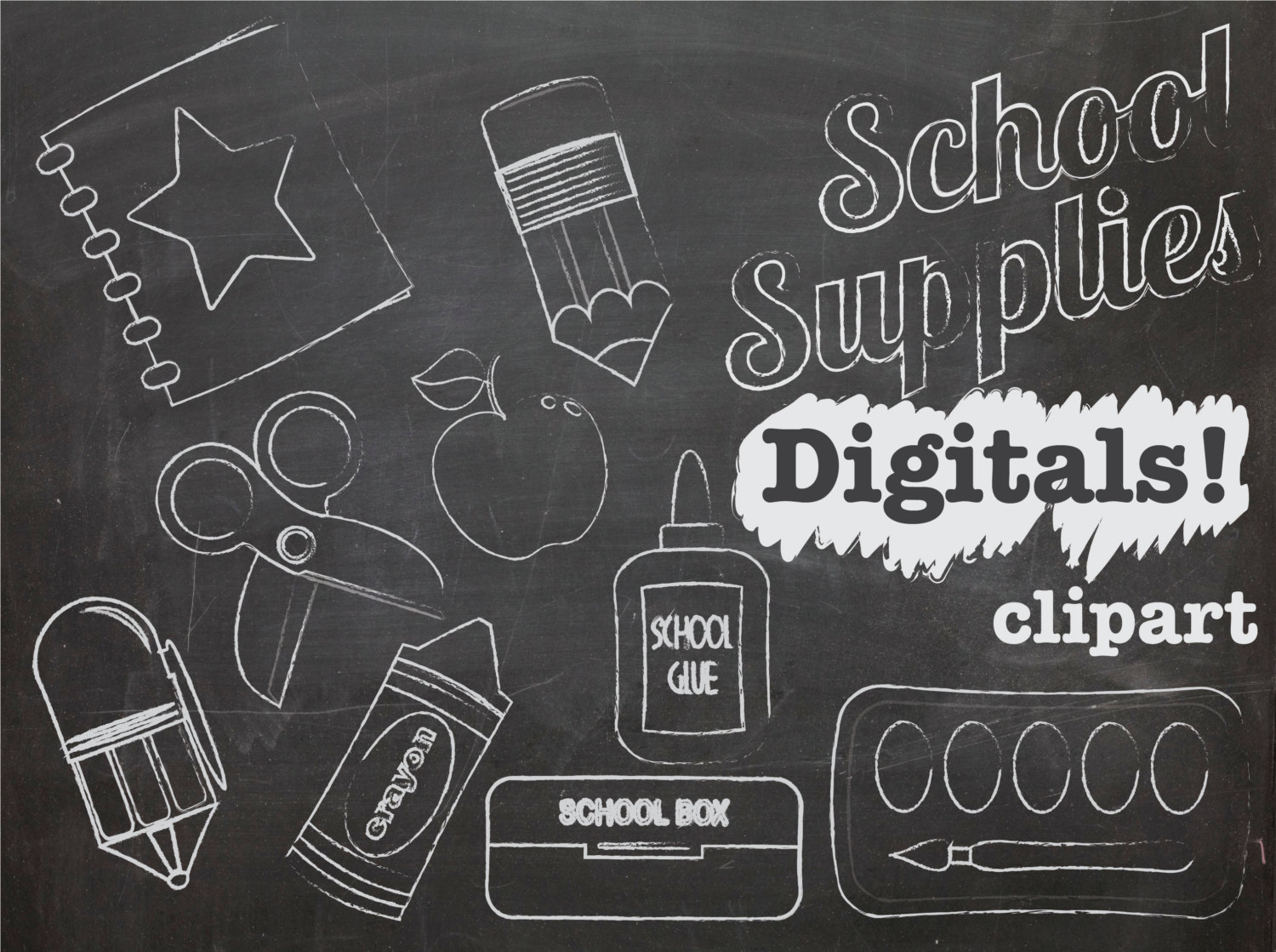Chalkboard drawing clipart school freeuse Clip Art Chalkboard Drawing Clipart - Clipart Kid freeuse