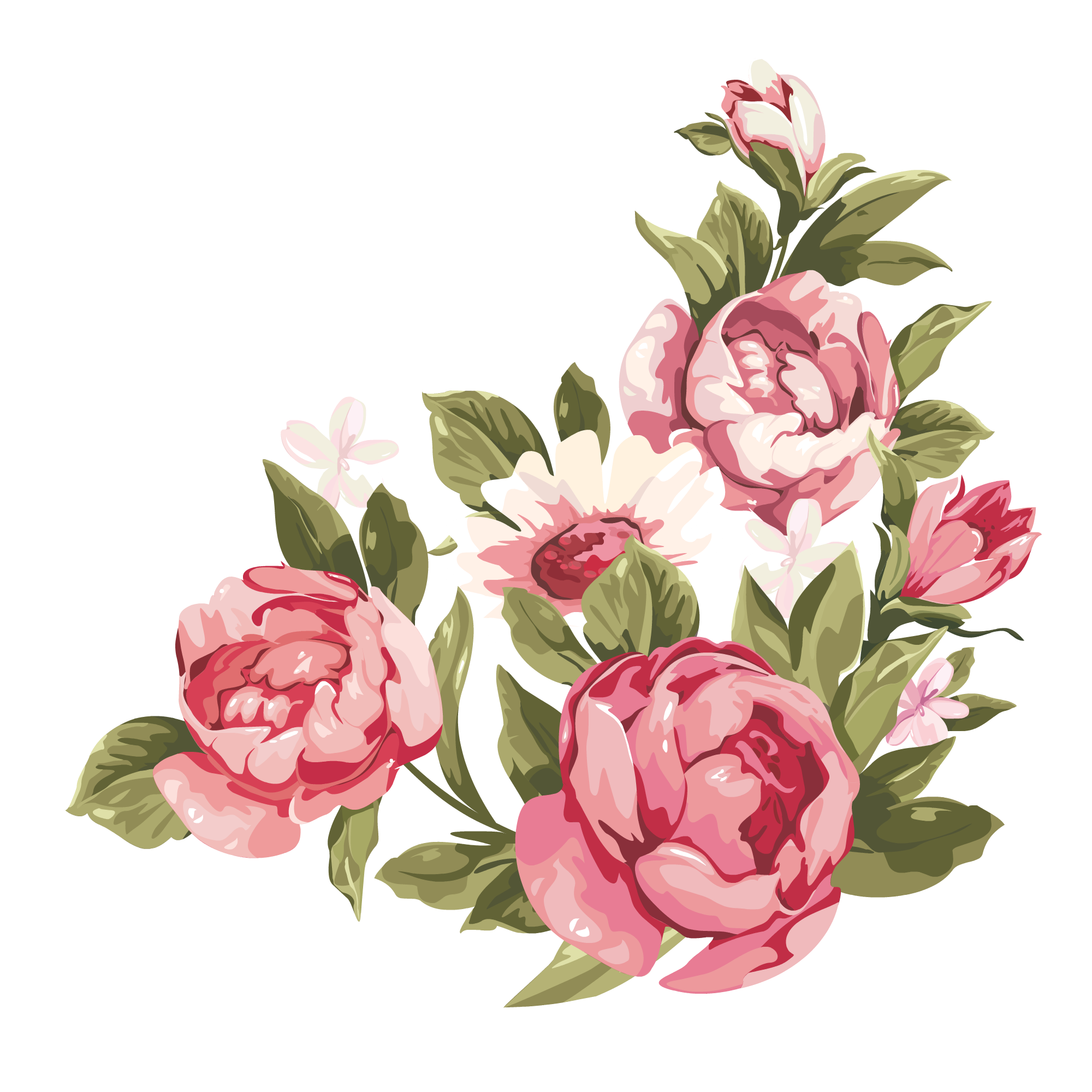 Peony crown clipart png black and white How To Distress Furniture With Vinegar | Pinterest | White lace ... png black and white