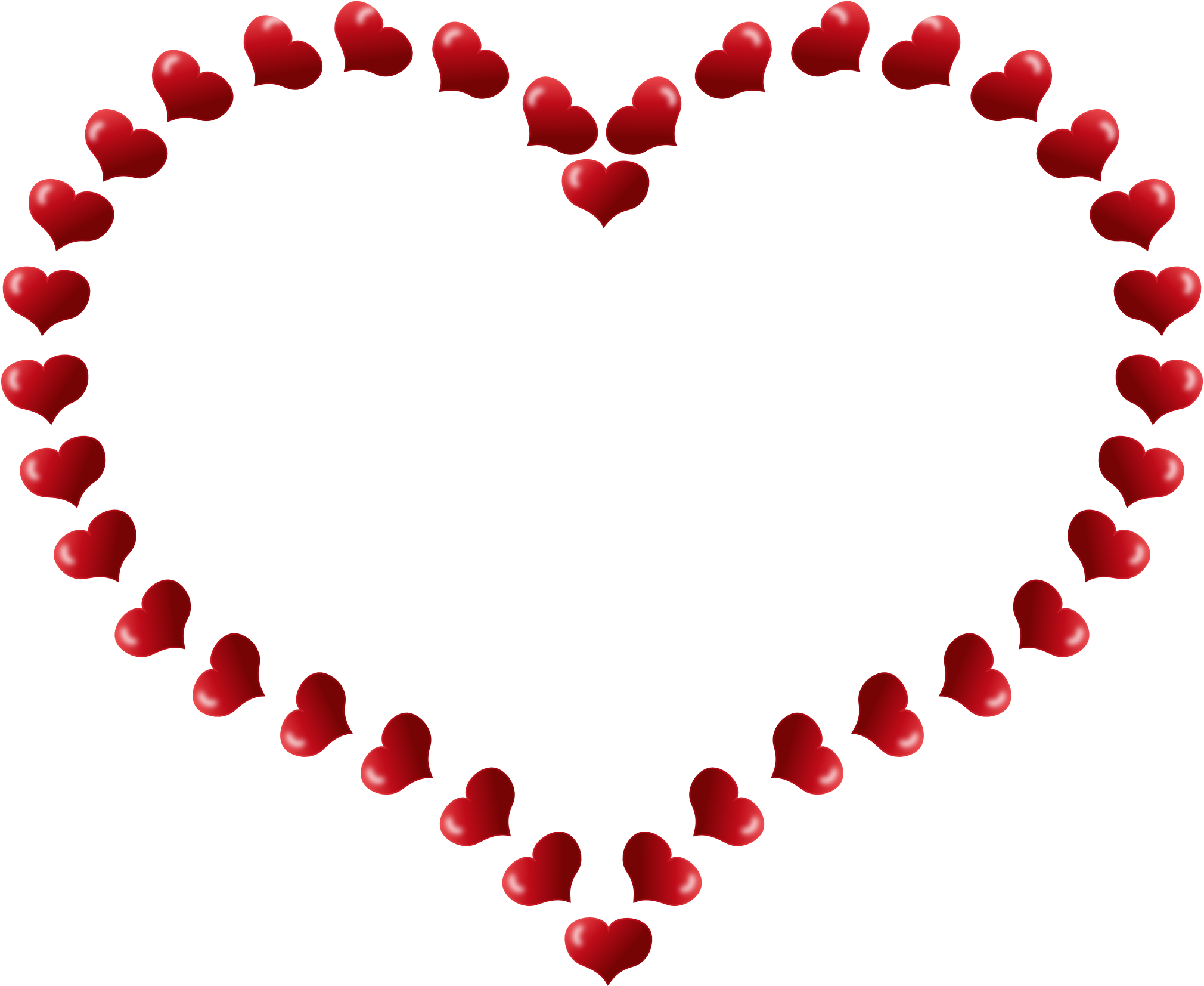 Free clipart heart borders image library 28+ Collection of Heart Frame Clipart | High quality, free cliparts ... image library