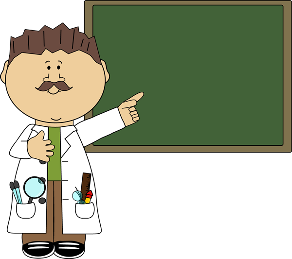 Chalkboard pictures clip art image transparent download Science Teacher Pointing to Chalkboard Clip Art - Science Teacher ... image transparent download