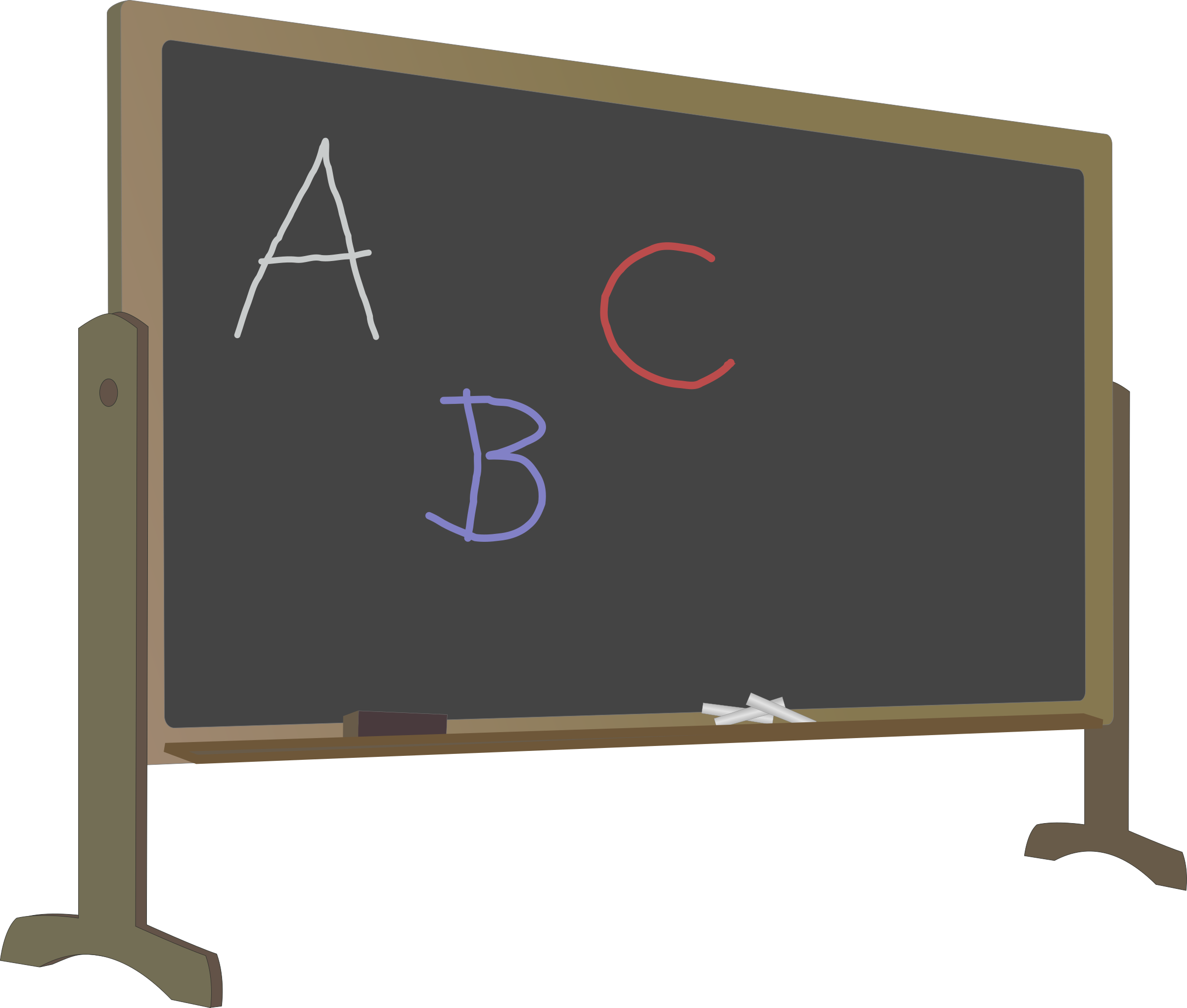 Chalkboard images clip art png black and white download Blackboard Clip art - Chalkboard 2400*2039 transprent Png Free ... png black and white download