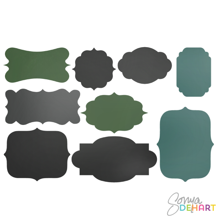 Chalkboard labels clipart jpg free download Chalkboard Label Clipart - Clipart Kid jpg free download