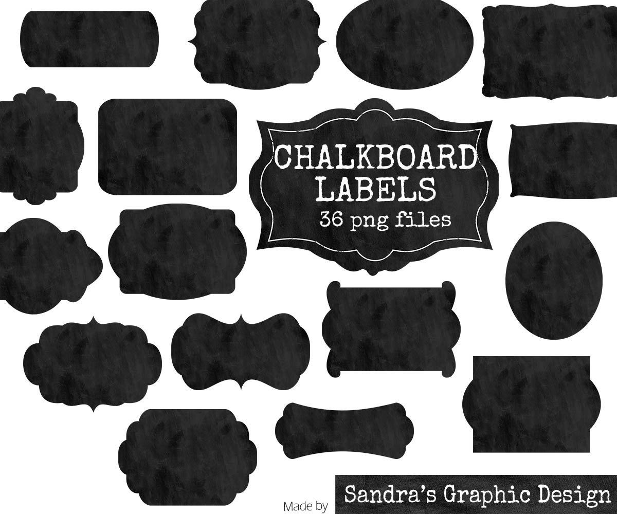 Chalkboard labels clipart jpg stock Chalkboard tag clipart - ClipartFest jpg stock