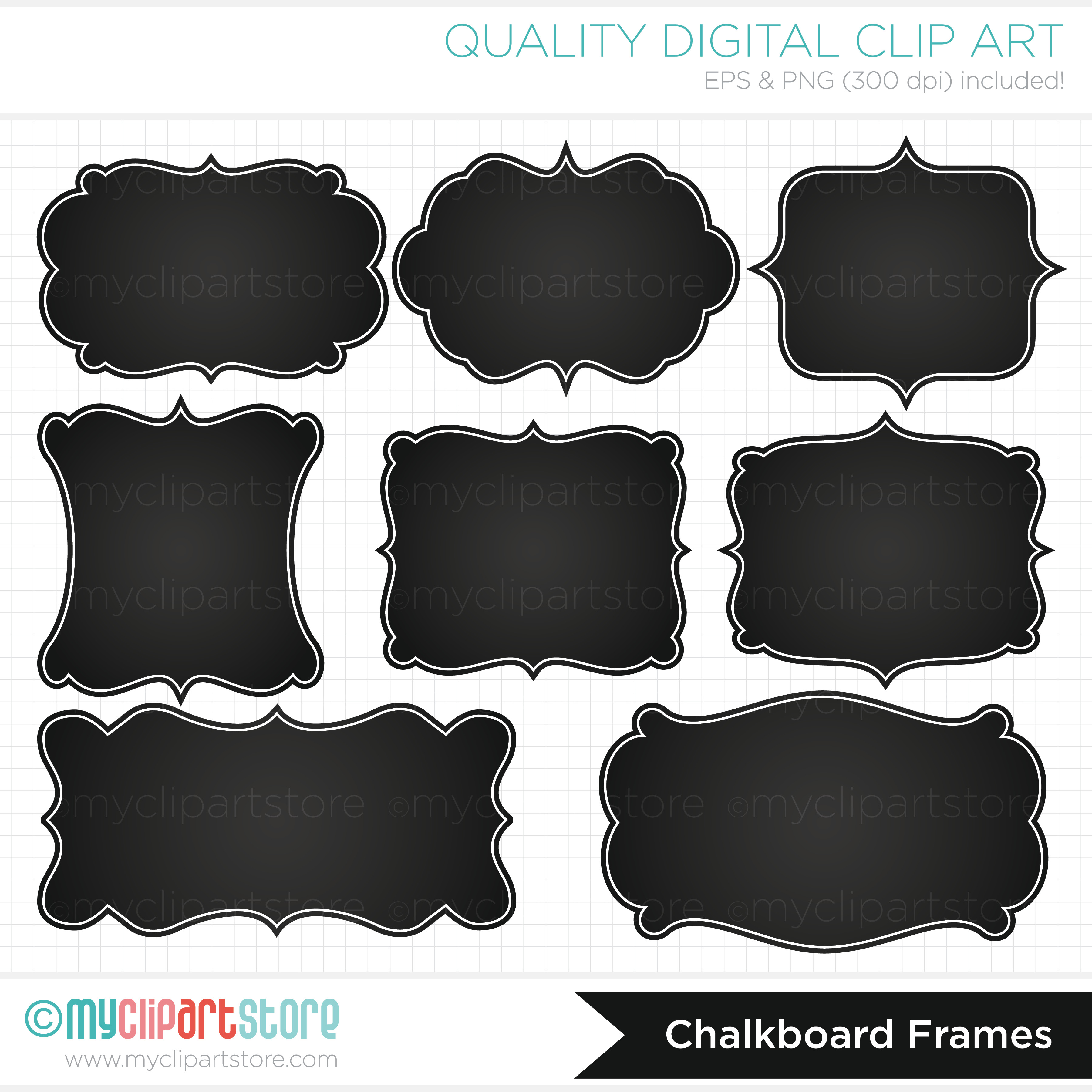 Chalkboard labels clipart banner transparent stock White Chalkboard Label Clipart - Clipart Kid banner transparent stock