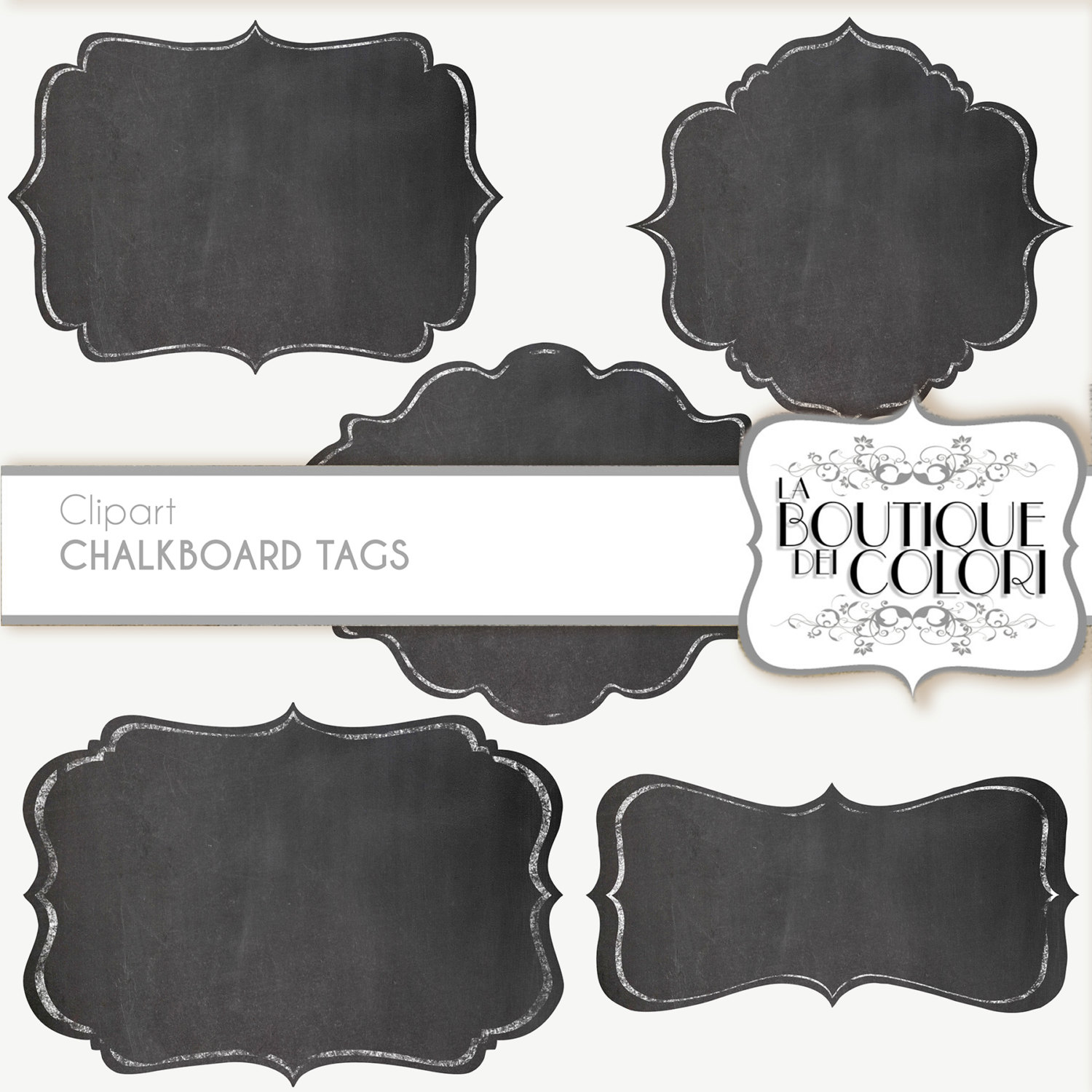 Chalkboard labels clipart clipart free download Clip Art Chalk Borders Frames Labels tags Digital Frames clipart free download