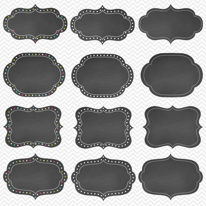 Chalkboard labels clipart image library library Chalkboard labels clipart - ClipartFest image library library
