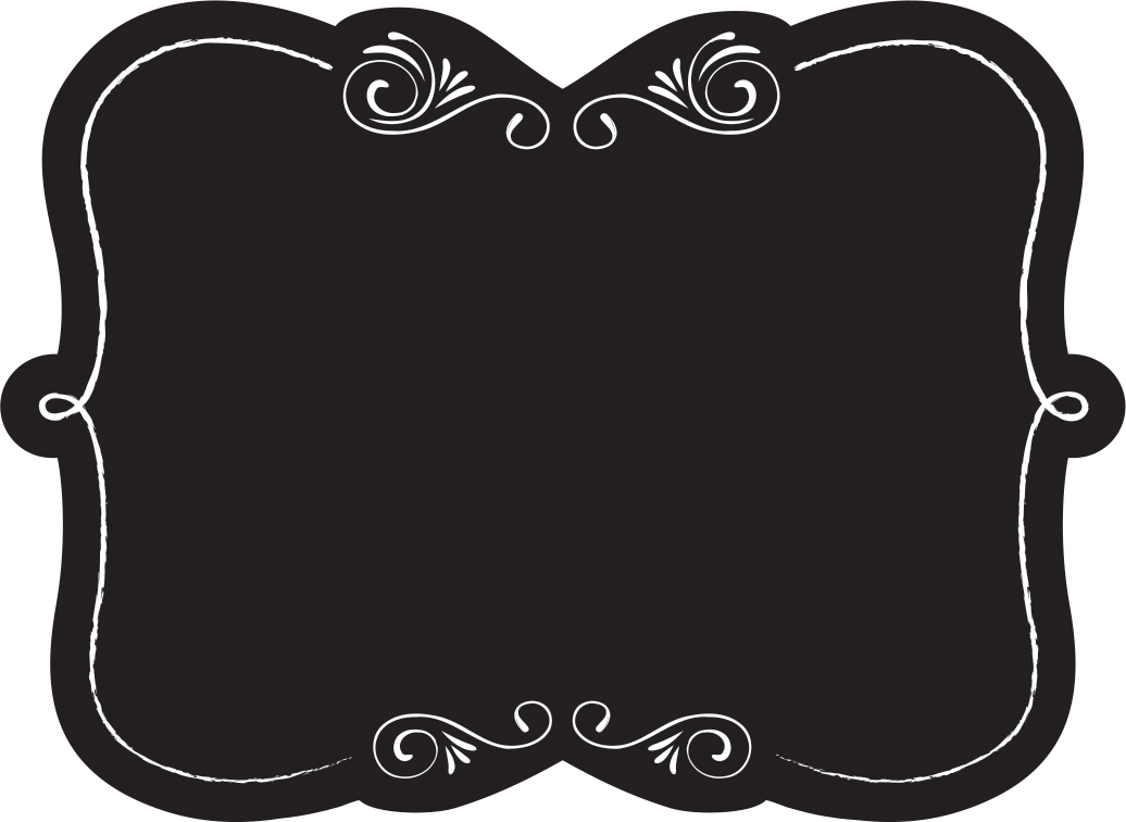 Clipartfest it up . Chalkboard labels clipart