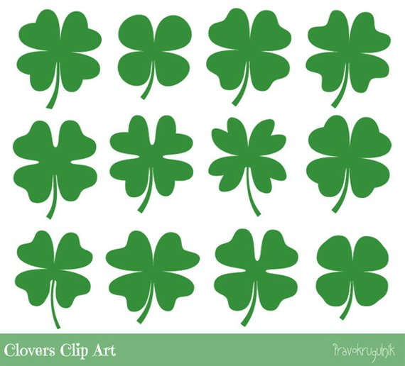 Tiny clover clipart picture library Green clover clipart, Four leaf clover clipart, Cute shamrock ... picture library