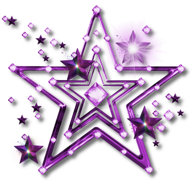 Christmas star gift stack clipart clip stock purple stars | PNG Jewel Star - PURPLE by JSSanDA | Stars ... clip stock