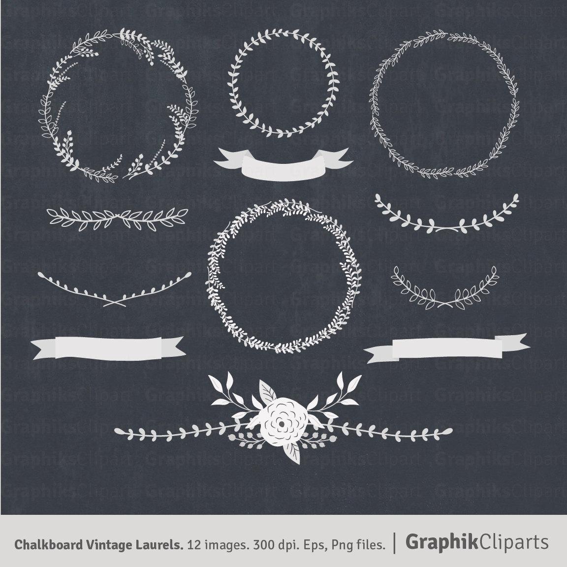 Chalkboard wreath clipart vector free Chalkboard wreath clipart - ClipartFest vector free