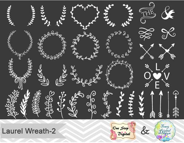 Chalkboard wreath clipart vector royalty free library Chalkboard wreath clipart - ClipartFox vector royalty free library